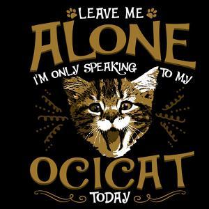 Ocicat Cat Pet by Wonderful Dream