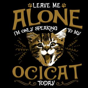 Ocicat Cat Pet by Wonderful Dream