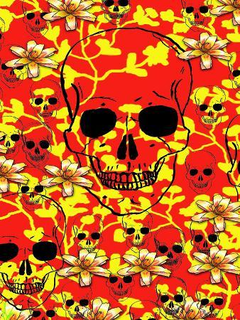 wonderful-dream-pattern-skull-design