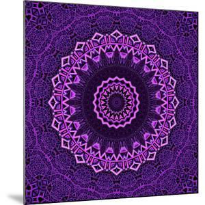 Purple Blue Mandala by Wonderful Dream