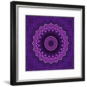Purple Blue Mandala by Wonderful Dream