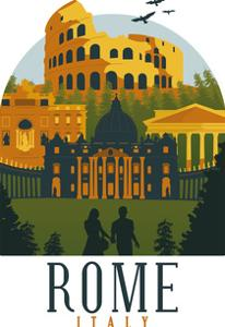 Rome Italy by Wonderful Dream