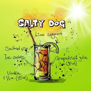 Salty Dog Cocktail by Wonderful Dream