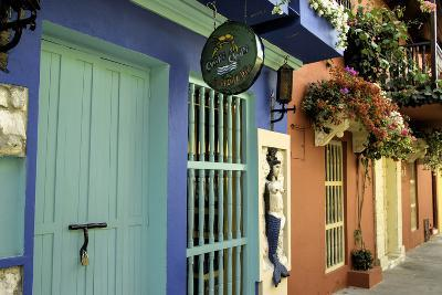 Wonderful Spanish Colonial Architecture, Old City, Cartagena, Colombia-Jerry Ginsberg-Photographic Print