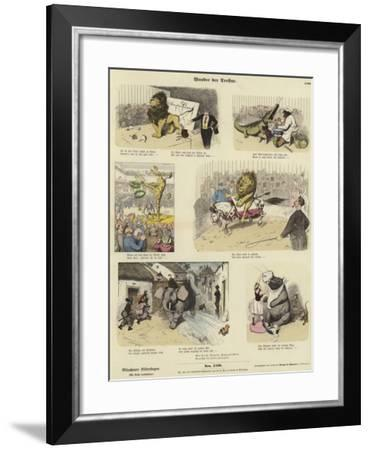 Wonders of Animal Training--Framed Giclee Print