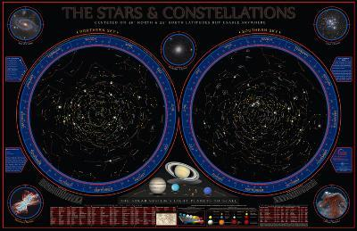 Wonders Of The Constellations Wall Chart--Laminated Poster