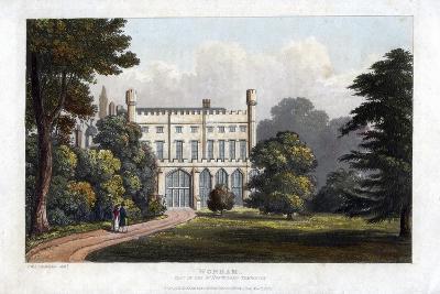 Wonham, Surrey, Seat of Lord Templeton, C1827-Frederick Wilton Litchfield Stockdale-Giclee Print