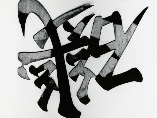 Wood and Calligraphy, Japan, 1970-Brett Weston-Photographic Print