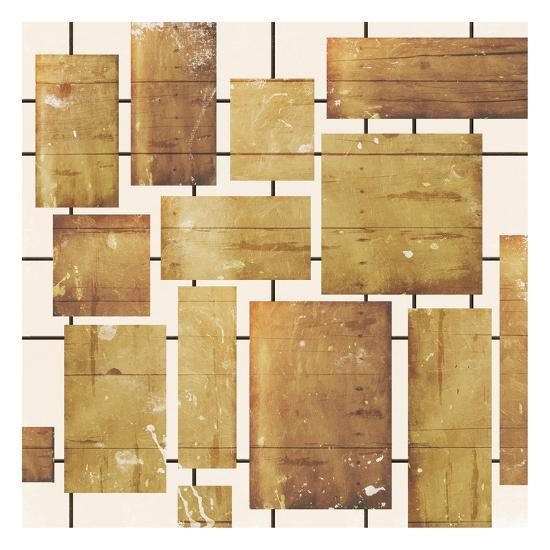 Wood Blocks-Jace Grey-Art Print