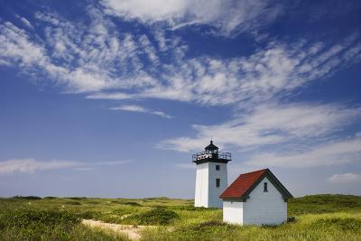 Wood End Lighthouse at Long Point-Jon Hicks-Photographic Print