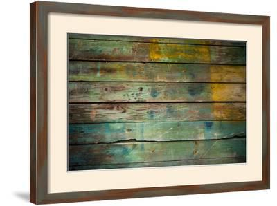 Wood Grungy Background-Arcady31-Framed Photographic Print