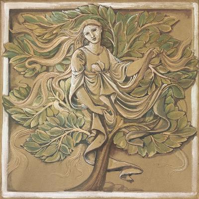 Wood Nymph-Edward Burne-Jones-Giclee Print