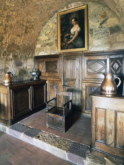 Wood Panelling, Castle of Turenne, Meyssac, Limousin, France--Photographic Print