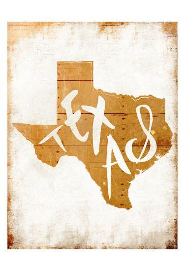 Wood Texas-Jace Grey-Art Print