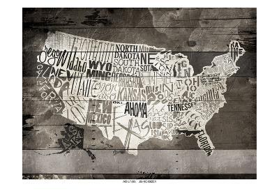 Wood USA-Jace Grey-Art Print