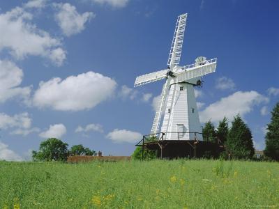 Woodchurch Windmill, Kent, England, UK-Kathy Collins-Photographic Print