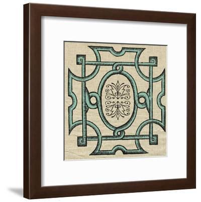 Woodcut 9-Tina Carlson-Framed Art Print