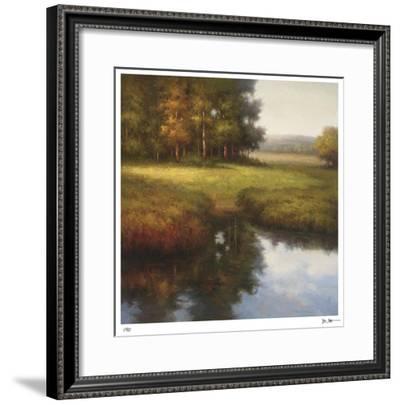 Wooded Glade-Li Yong Nam-Framed Giclee Print