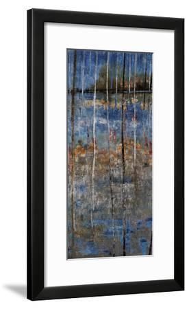 Wooded Lake - Panel-Alexys Henry-Framed Giclee Print