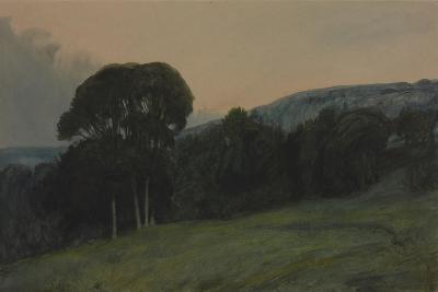 Wooded Landscape-Sir Charles Holroyd-Giclee Print
