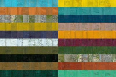 Wooden Abstract VIII-Michelle Calkins-Art Print