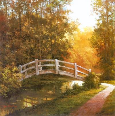 Wooden Bridge-T^ C^ Chiu-Art Print