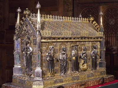 Wooden Case with Reliquary of St Grato-Giovanni De Malines-Giclee Print