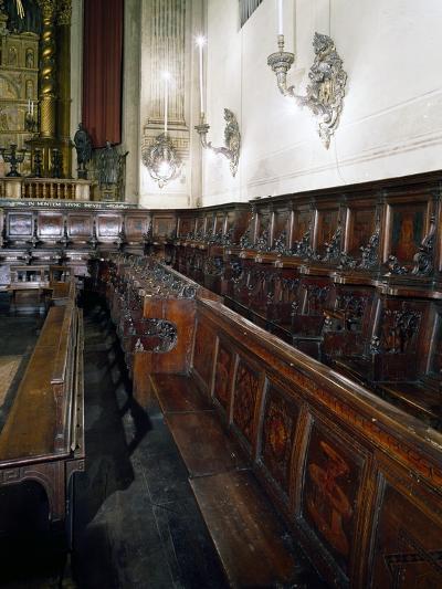 Wooden Choir-Lorenzo Da Lendinara-Giclee Print