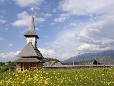 Wooden Church, Fundata, Transylvania, Romania, Europe-Gary Cook-Photographic Print