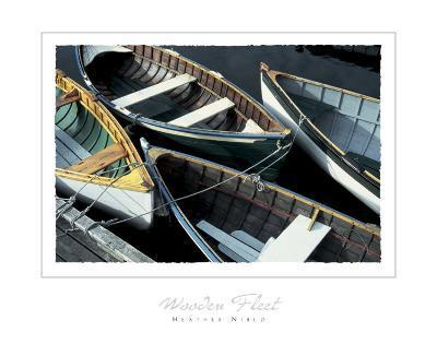 Wooden Fleet-Heather Niblo-Art Print