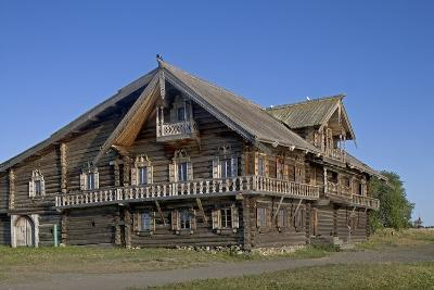 Wooden House of Peasant Oshevnev (1876) from Village of Oshevnevo--Photographic Print