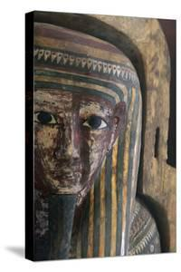 Wooden Sarcophagus of Pa-Kush, Priest of Amun?
