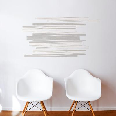 Wooden Slats Wall Decal--Wall Decal