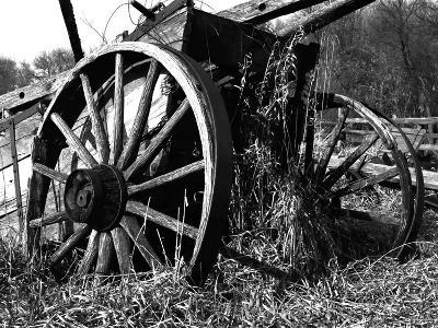 Wooden Wagon-Mark Polege-Art Print