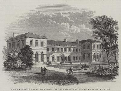 Woodhouse-Grove School, Near Leeds, for the Education of Sons of Methodist Ministers--Giclee Print