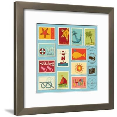 Sea Elements Stamp Collection