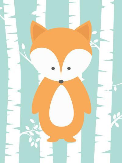 Woodland Birch 3-Tamara Robinson-Art Print