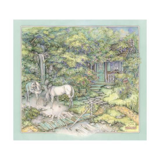 Woodland Destination-Kim Jacobs-Giclee Print
