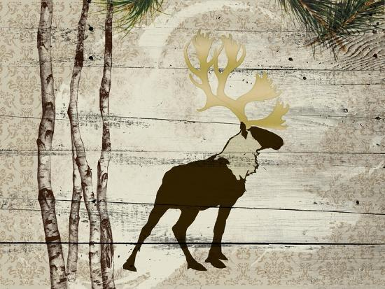 Woodland  Elk--Giclee Print