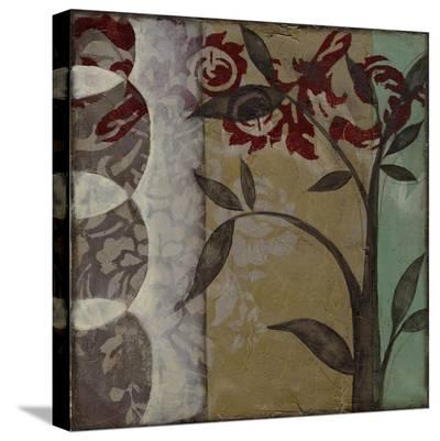 Woodland Fantasy I-Jennifer Goldberger-Stretched Canvas Print