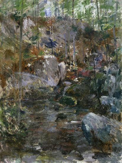 Woodland Stream-Eug?ne Boudin-Giclee Print