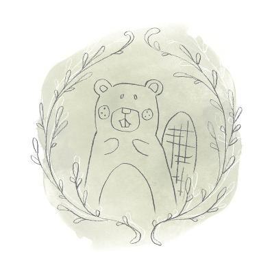 Woodland Vignettes III-June Erica Vess-Art Print