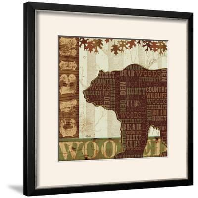 Woodland Words II-Jess Aiken-Framed Photographic Print