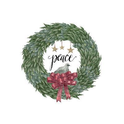 Woodland Wreath III-Sara Zieve Miller-Art Print
