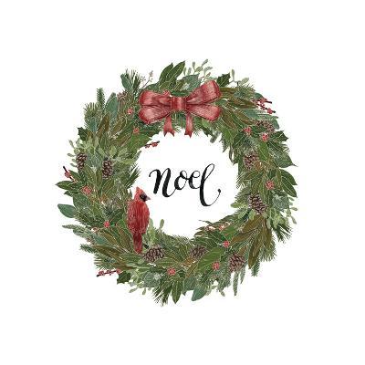 Woodland Wreath IV-Sara Zieve Miller-Art Print
