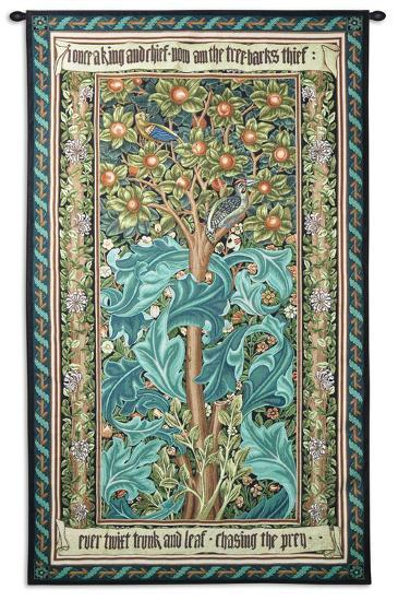 Woodpecker-William Morris-Wall Tapestry