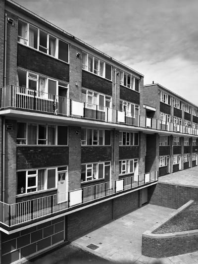 Woodside Maisonettes, Sheffield 13th August 1962-Michael Walters-Photographic Print