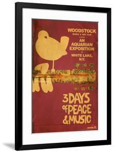 Woodstock - Collage (Pink)