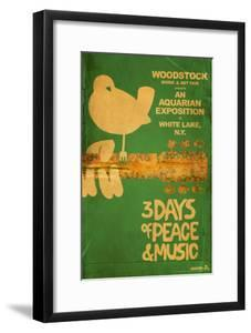 Woodstock - Collage (Teal)