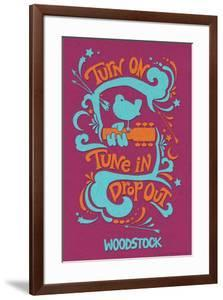 Woodstock - Turn On, Tune In, Drop Out (Purple)